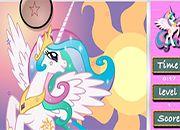 Princesa Celestia Hidden Stars | juegos my little pony - jugar mi pequeño pony