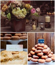 Charming details -- rustic Fall Wedding