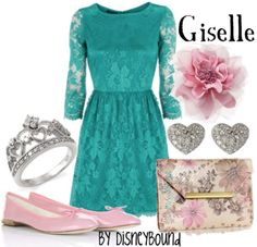 Disney Bound Giselle Enchanted