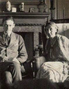 TS Elliot & Virginia Woolf.