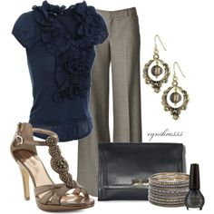fashion, style, ruffl, the office, teacher outfit, work outfits, shoe, shirt, work cloth