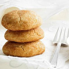 This snickerdoodle recipe a holiday baking necessity. More cookie recipes: http://www.bhg.com/recipes/desserts/cookies/favorite-cookie-recipes/?socsrc=bhgpin122413snickerdoodles&page=9