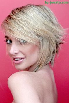 Short hair styles are in fashion for 2012