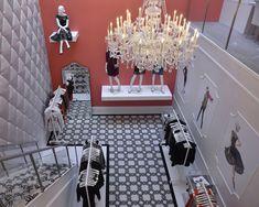 Ivanka Trump Collection, New York; Photo: Ben Gabbe, New York; http://vmsd.com/content/ivanka-trump-collection-new-york