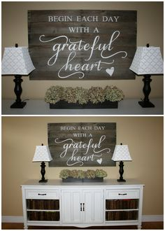 wall art, front door entrance, beds, wood signs, front doors, wall quotes, diy pallet signs, grate heart, grateful heart