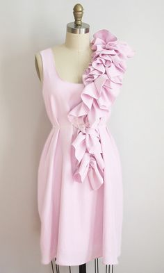 Juley Dress (in Pop Art Pink), by Dolly Pearl