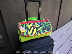 Here are great ideas to sew for your next trip whether it's near or far. Projects from Sewing With Nancy guest Mary Mulari