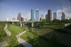 buffalo bayou park... best run in houston!