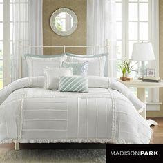 Madison Park Holly Cotton 6-piece Duvet Cover Set