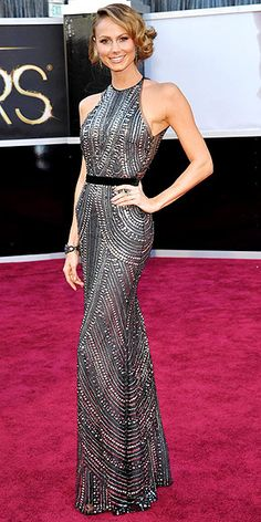 might be my favorite oscars dress (might be that her body is insane?)   Stacy Keibler