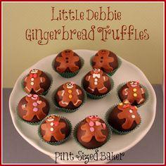 Pint Sized Baker: Little Debbie Gingerbread Truffles + Giveaway