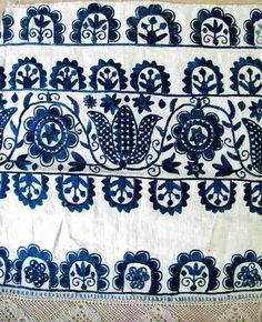 Slovak embroidery.
