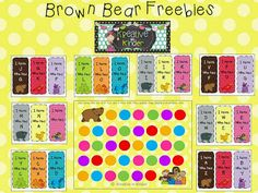 brown bear, brown bear...I have who has.....Kreative in Kinder