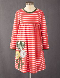 Fun Appliqué Dress (Mini Boden)