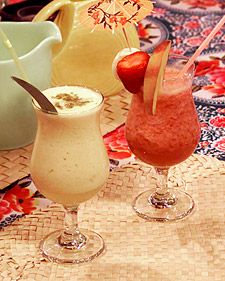 Daiquiri ... Banana Strawberry Peach