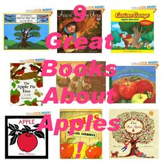 9 Great Books About Apples!