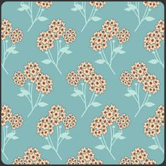 Pat Bravo - Summerlove - Tokens of Love in Aqua by Riley Blake Designs  can't tell if this is orange or red