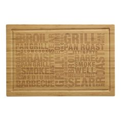 Great cutting board for your barbecue! #CIGMemorialDay