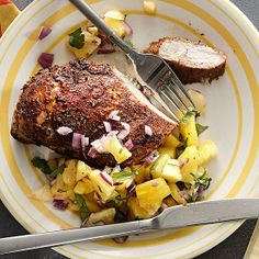 Caribbean Chicken from Rachael Ray