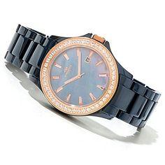 618-568 - Oniss Women's Jolee Quartz Ceramic Bracelet Watch