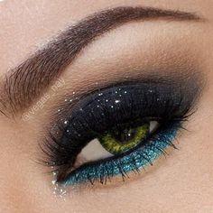 Turquoise shadow
