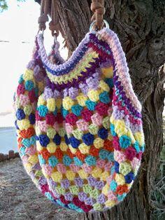 pattern, squar bag, granni bag, granny squares, granni squar, granni purs, crochet bag, bag tutorials