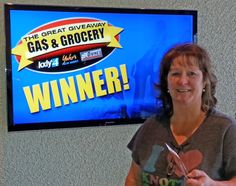 Maryann Martindale just won $100 in The Great Gas & Grocery Giveaway from KXLY4, Divine's & Yokes! Just watch KXLY4 News for your chance to win.