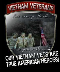 Vietnam Vets...THANK YOU & Welcome Home!!