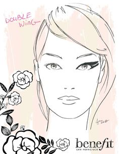Revamp your normal cat eye with the double wing