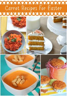 Easter recipe ideas #Easter #carrot