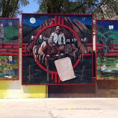 mural in Las Vegas, NM