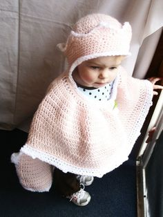 Princess Dress Up Play Cape with attached Crown Hat Crochet Pattern PDF 390 with instructional videos included. $4.75, via Etsy.