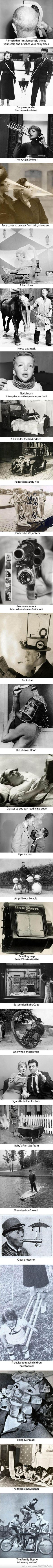 27 Ridiculous Inventions From The Past.