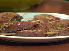 Flank Steak Pinwheels from FoodNetwork.com