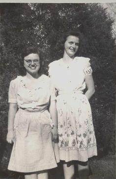 Best Friends Forever ~ vintage photo