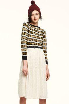love the sweater! lauren moffatt fall 2012