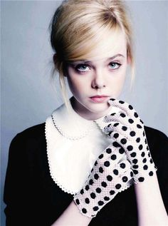 Elle Fanning for US Marie Claire 2011