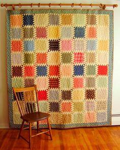Sawtooth Patchwork Quilt Lancaster Pennsylvania