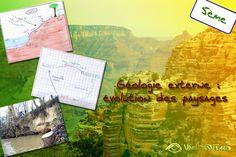 Géologie externe et évolution des paysages  http://www.vivelessvt.com/