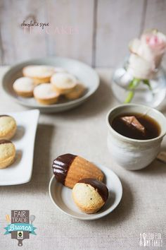 Chocolate Spice Tea Cakes #recipe via FoodforMyFamily.com #FairMoms