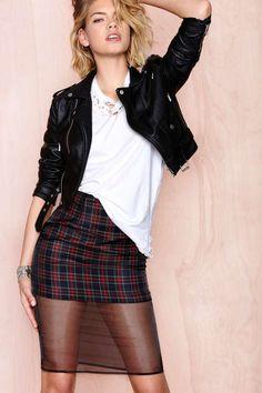 Over Grunge Skirt