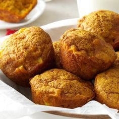 Apple Pumpkin Muffins Recipe from Taste of Home