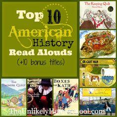 Top 10 American History Read Alouds (+10 Bonus Titles) The Unlikely Homeschool