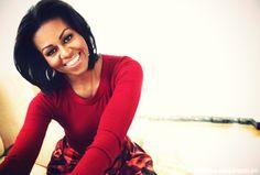 michelle obama :)