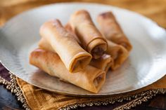 Chinese Spring Rolls with Chicken-these are so yummy
