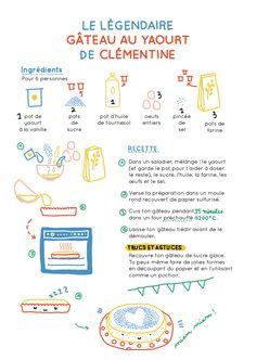 macocobox novembre - easy yaourt cake recipe / recette du gateau au yaourt - cook book illustration / illustration de carnet de recettes -  camille chauchat