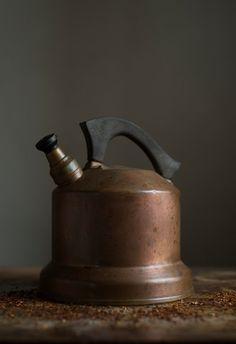 Antique Copper Tea Kettle  C.1910