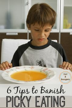 My Child Won't Eat!  This is some really good info on why kids are picky and some very practical tips to get kids to eat. DirtandBoogers.com