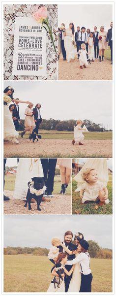 love this wedding