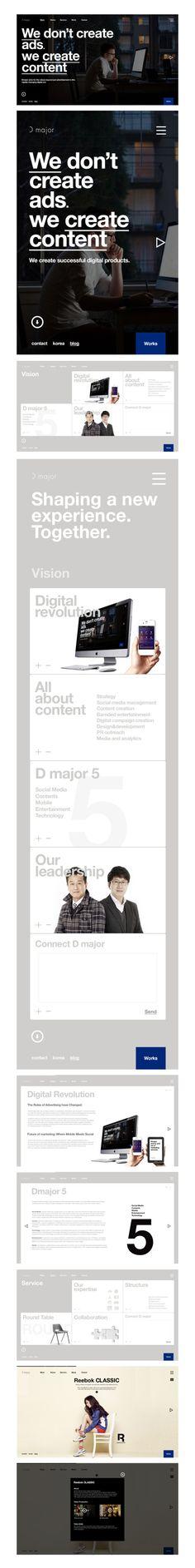 #website from Bory Kim #Twitpic #webdesign #website #responsive